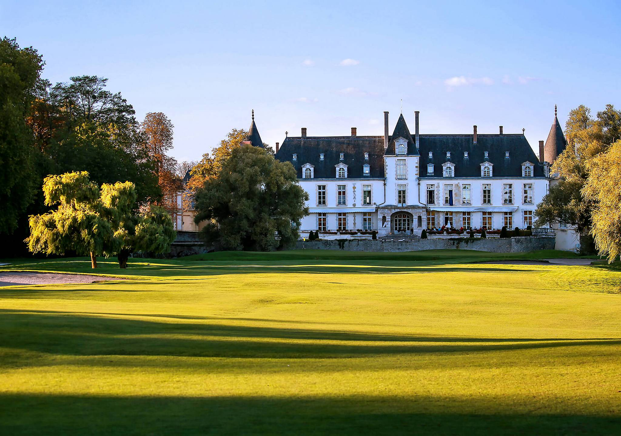 Chateau Golf Spa D Augerville Official Website Luxury 5 Star