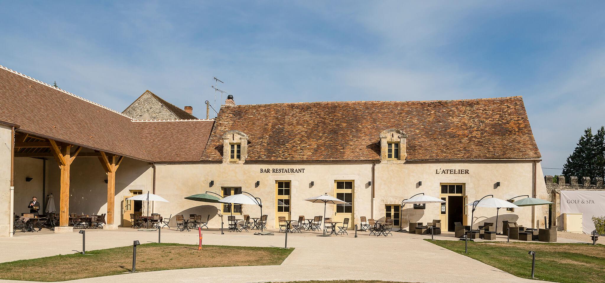 Bistro L Atelier Chateau Golf Spa Augerville Augerville La